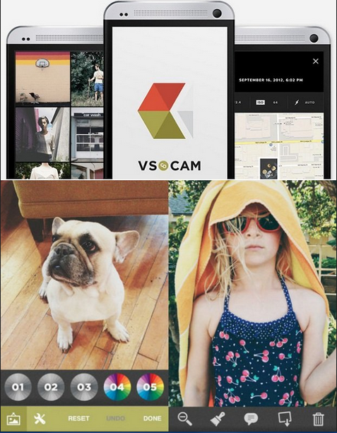 Aplikasi Edit Foto Terbaik Android VSCO
