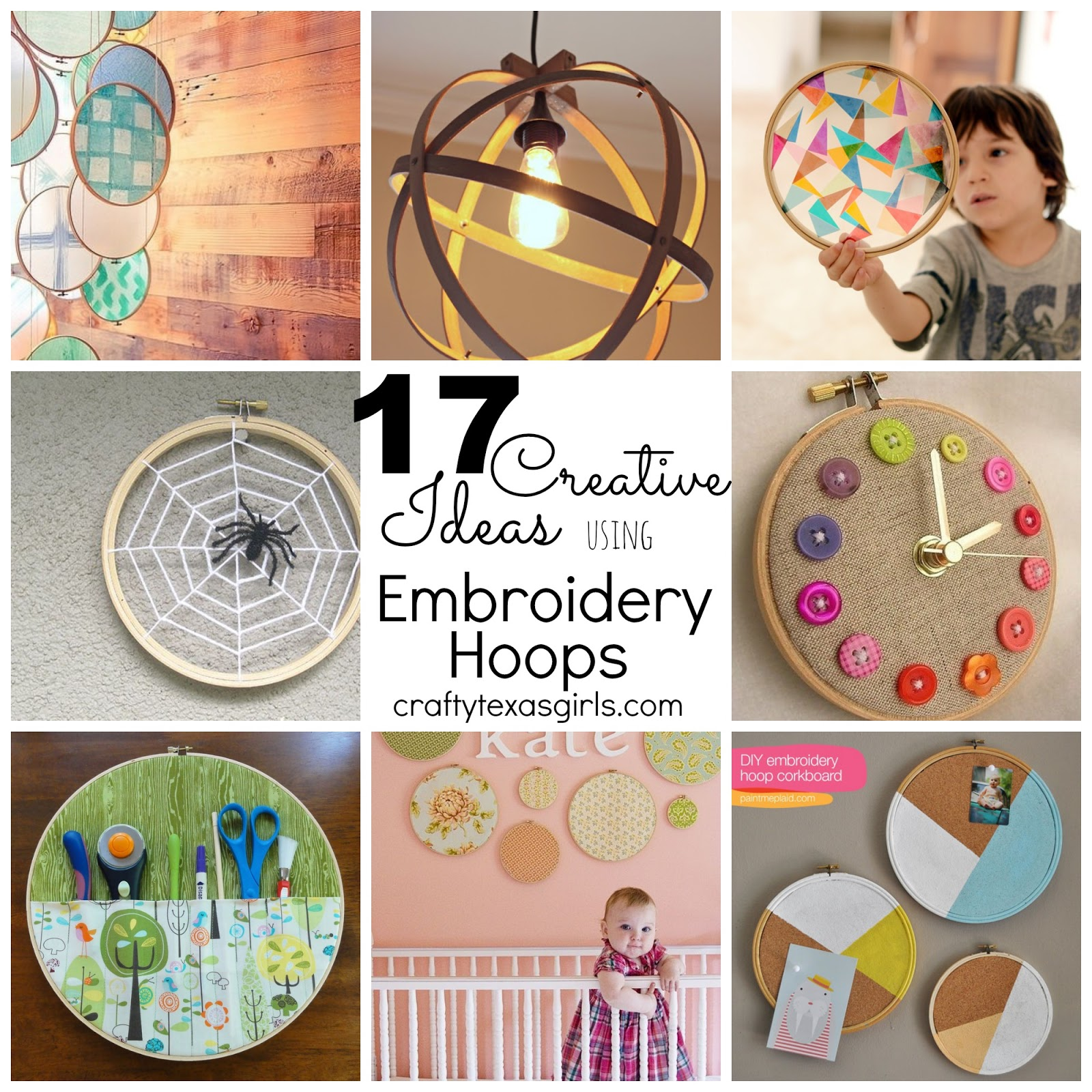 How to Use Embroidery Hoops for Crafts