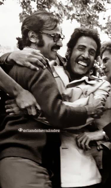 Alí Rodríguez Araque y Marcos Gómez