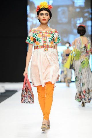 Fashion Pakistan Week 5 Pret Collection By Deepak Perwani - Pakistan Designer Clothes