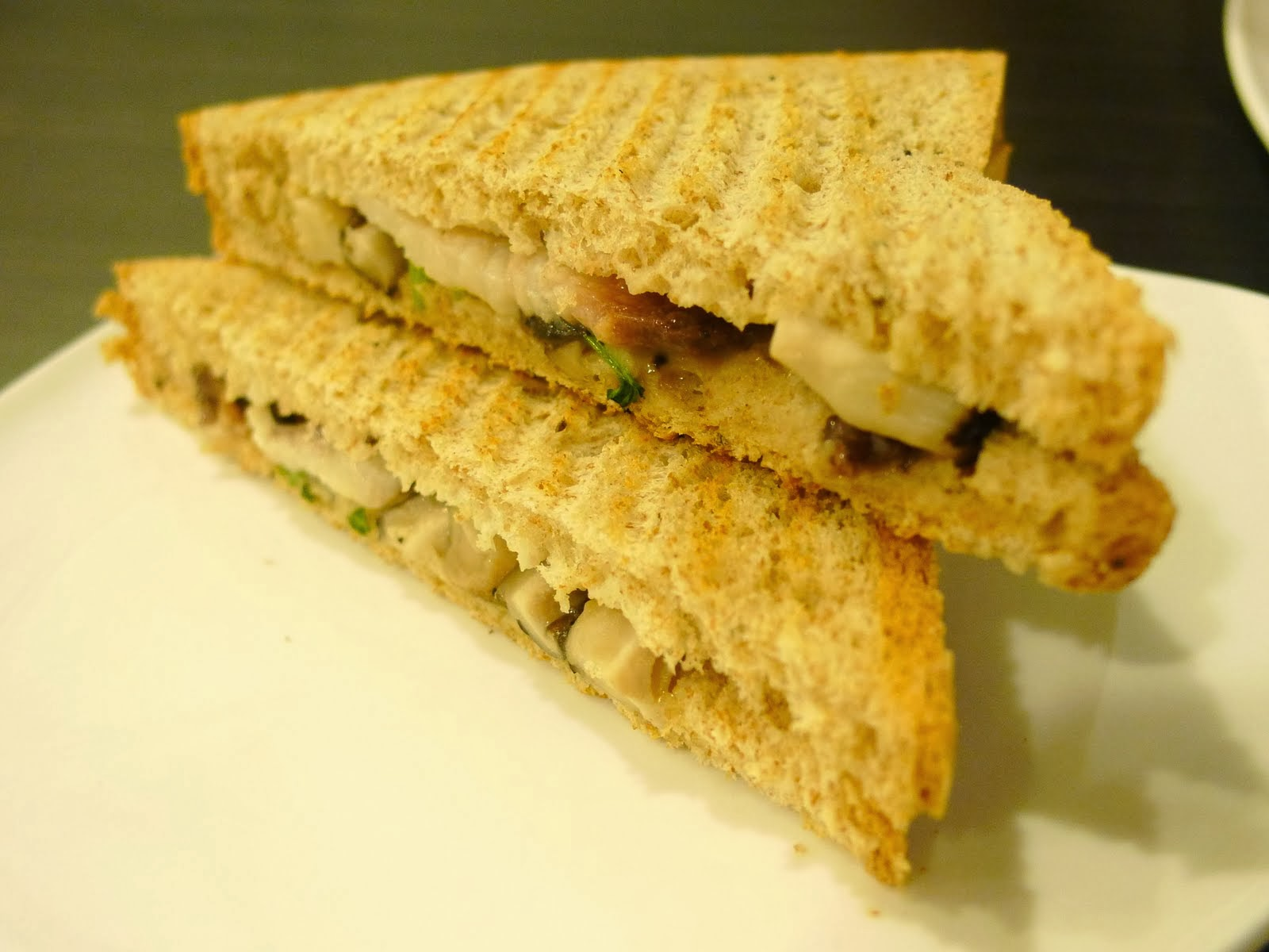 Mackerel toasties