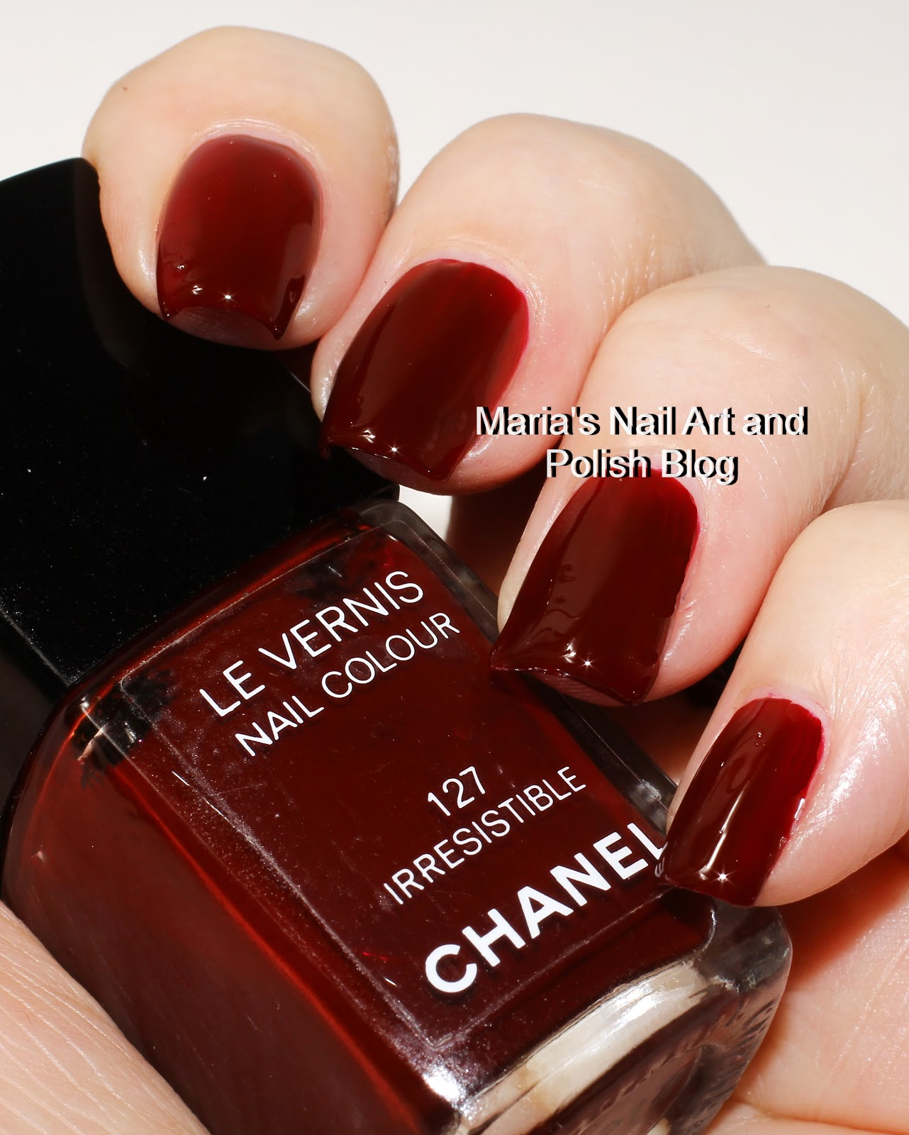 Marias Nail Art and Polish Blog: Chanel Irresistible 127 US vers ...