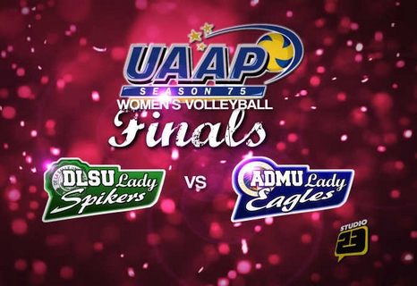 UAAP 75 Women's Volleyball Finals