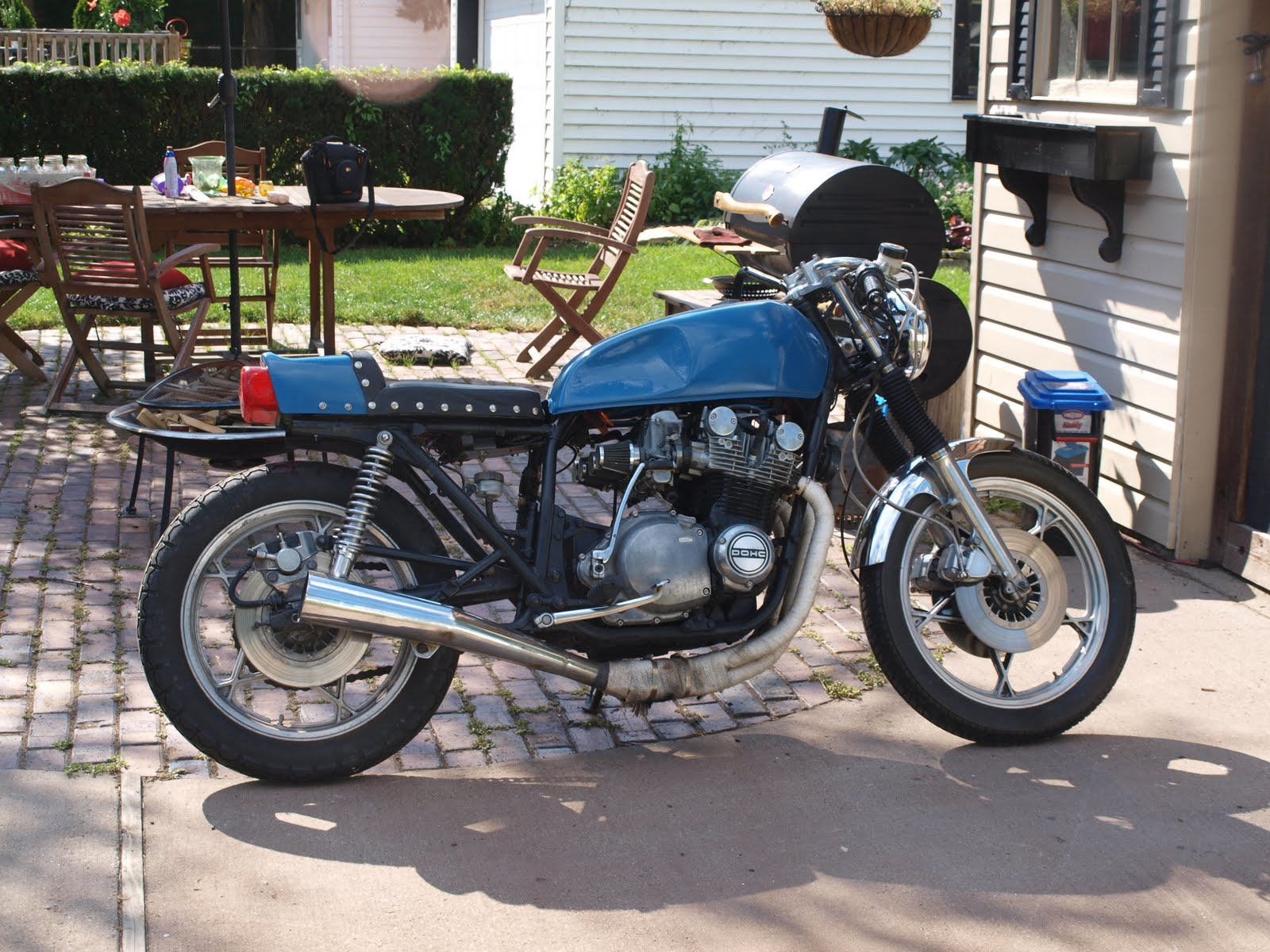 Build Shit Dude Suzuki Gs750 Cafe Mad Max Engine Diagram For A 30 Year Old Bike I Think It Rides Pretty Great And Pulls Strong To Quote Friend Its Vintage Fast Im Proud Of