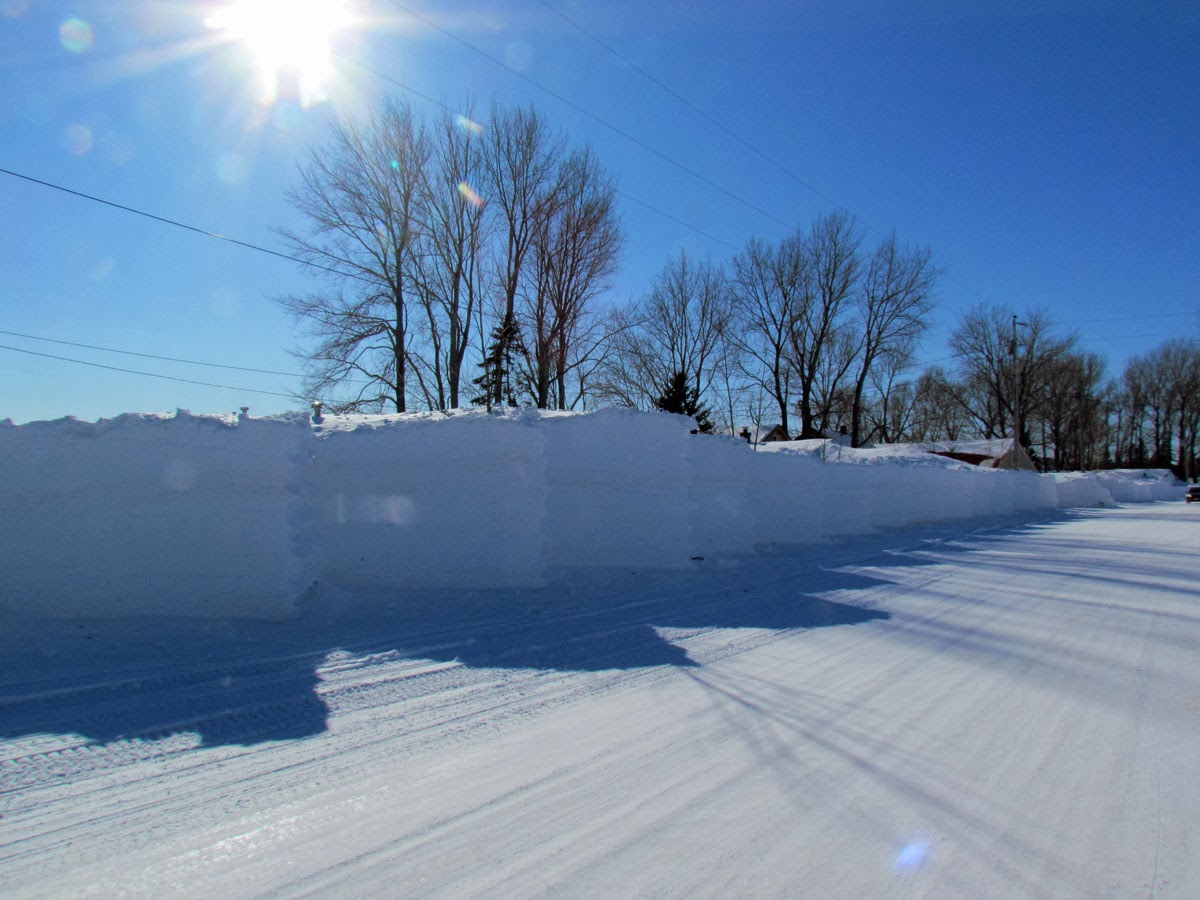 Bank Top Garage >> The Agatelady: Adventures and Events: Documenting Grand Marais Snow