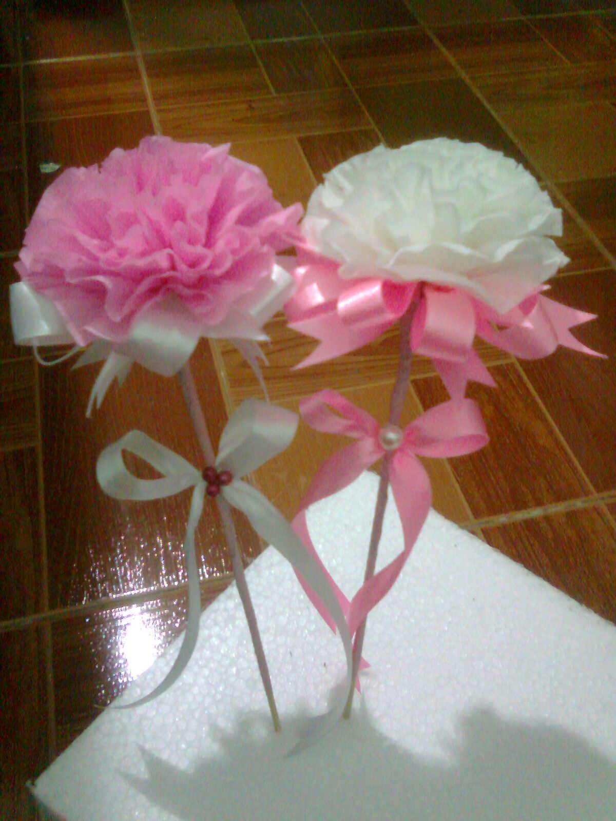 Bunga tisu & bunga telur
