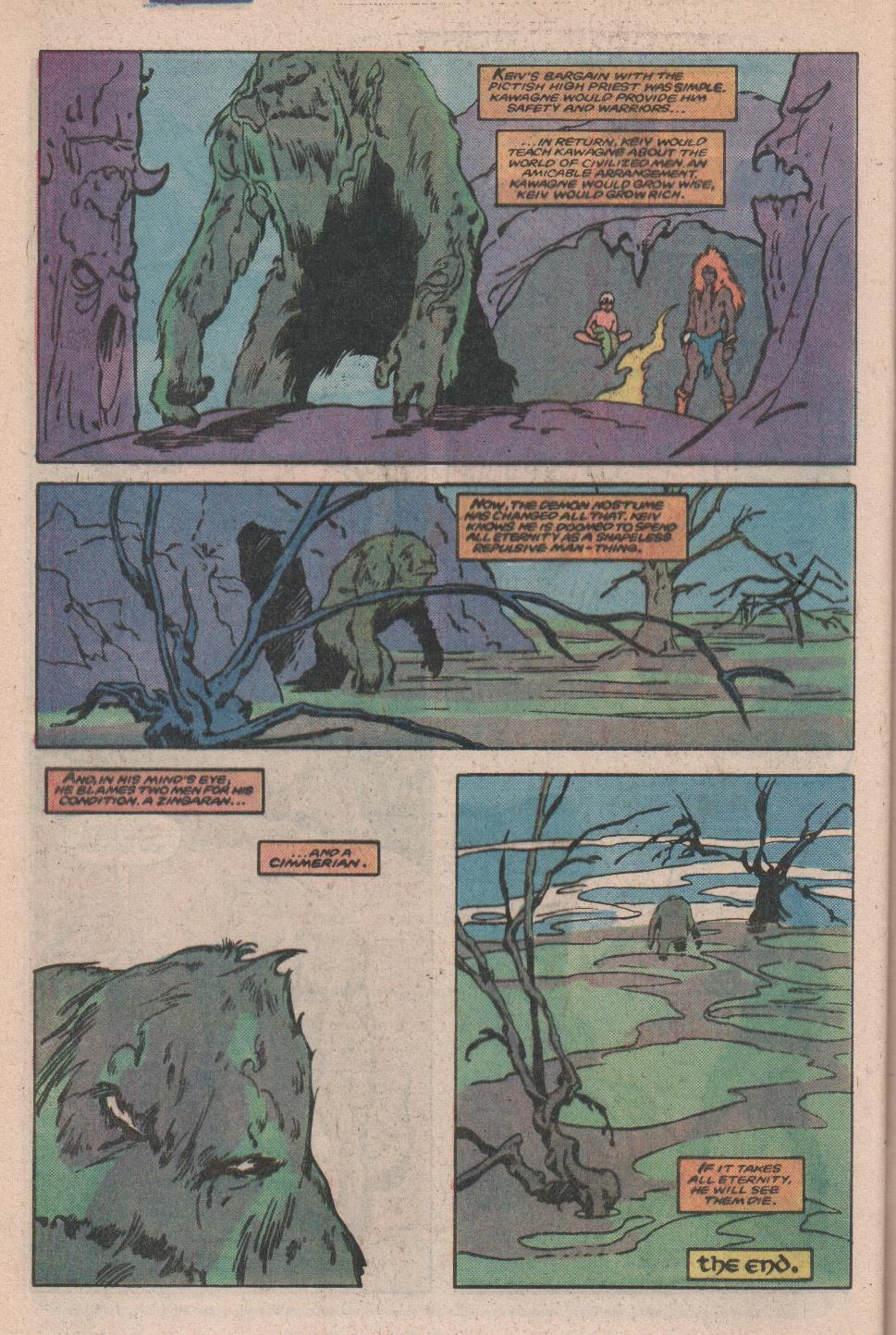 Conan the Barbarian (1970) Issue #173 #185 - English 23
