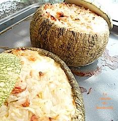 courgettes farcies au riz facile