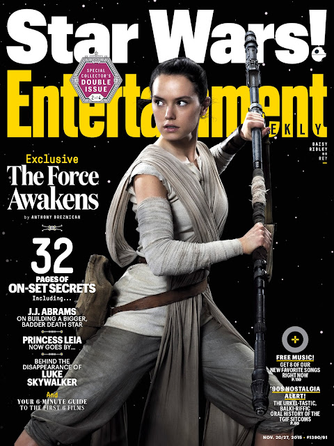 Actress @ Daisy Ridley - Entertainment Weekly, November 2015