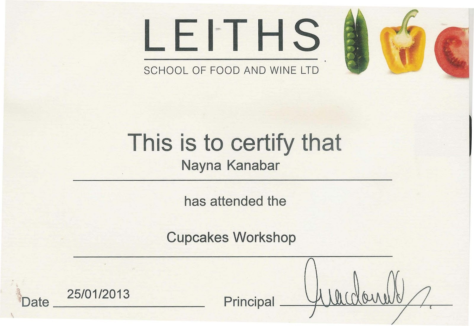 simply.food: Cup cake class at Leiths School of food and wine.