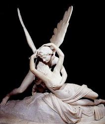 Eros e Psique, de Canova, no Louvre