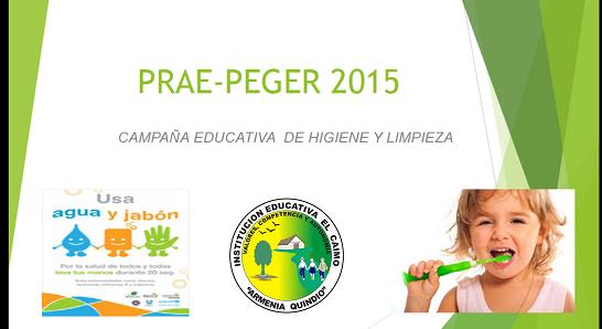 Actividades Cierre PRAE-PEGER 2015