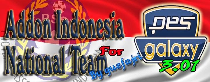 Timnas Indonesia PES 2015 untuk PESGalaxy Patch 3.01