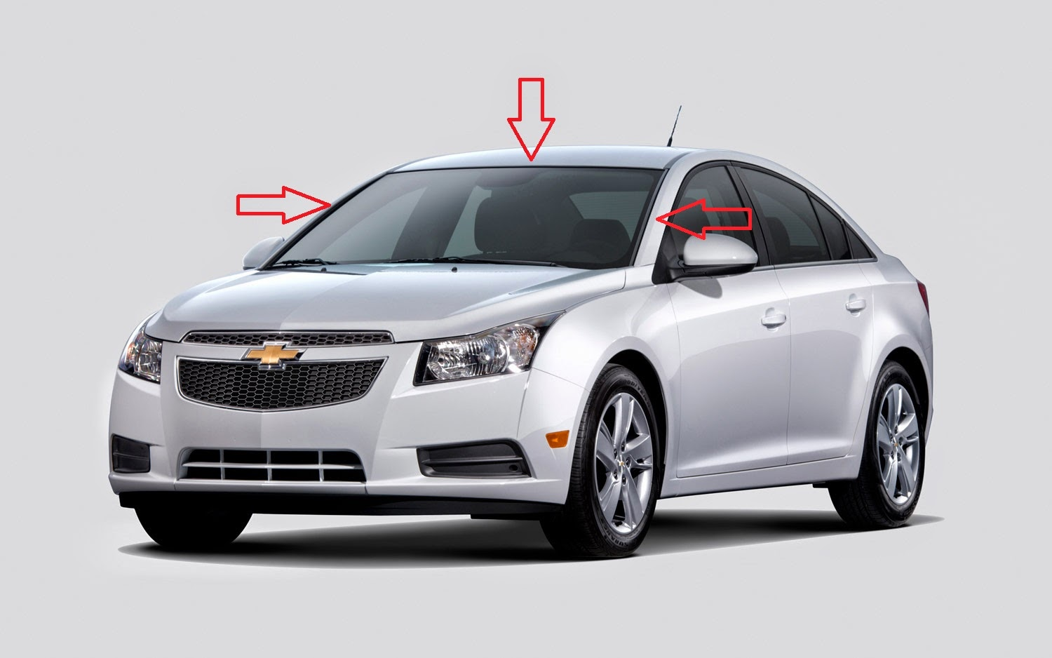 Front Windshield Seal Fits Chevrolet Cruze Daewoo Lacetti