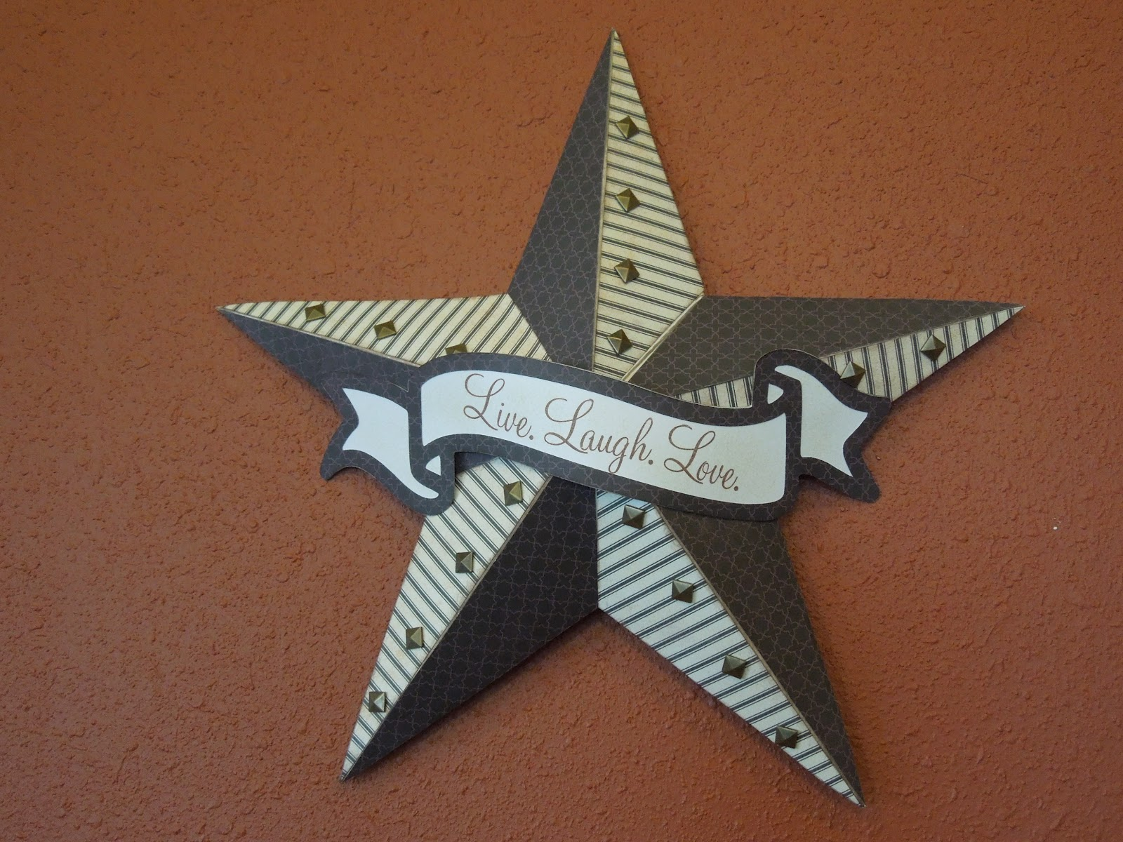 Lone star stampers my creations star for Lone star home decor