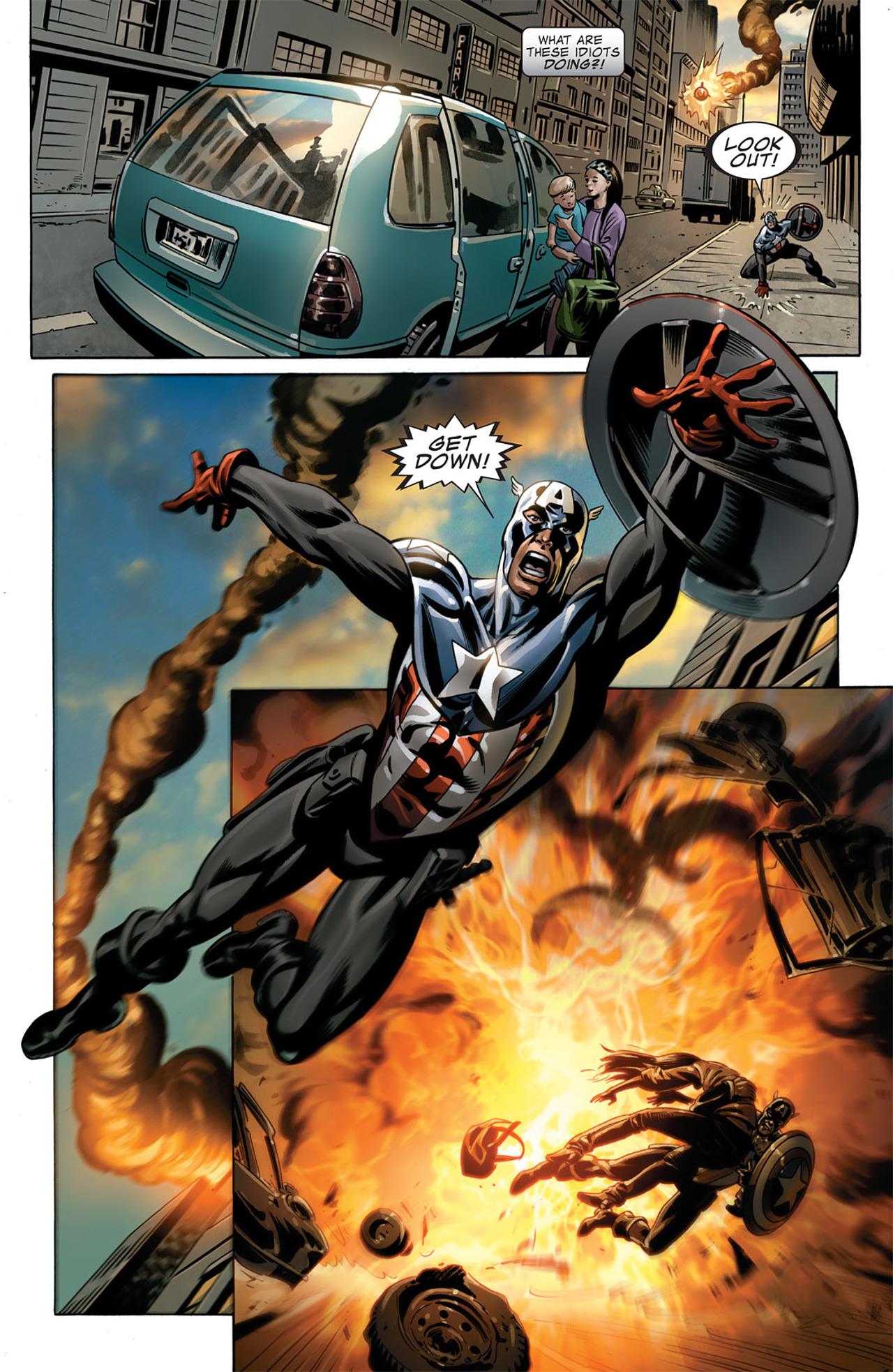 Captain America (2005) Issue #50 #50 - English 14