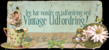 Vinner av utfordring #54 hos Vintageutfordringen