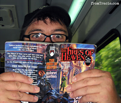 Thomas Reading Wheel of Time Book Five The Fires Of Heaven