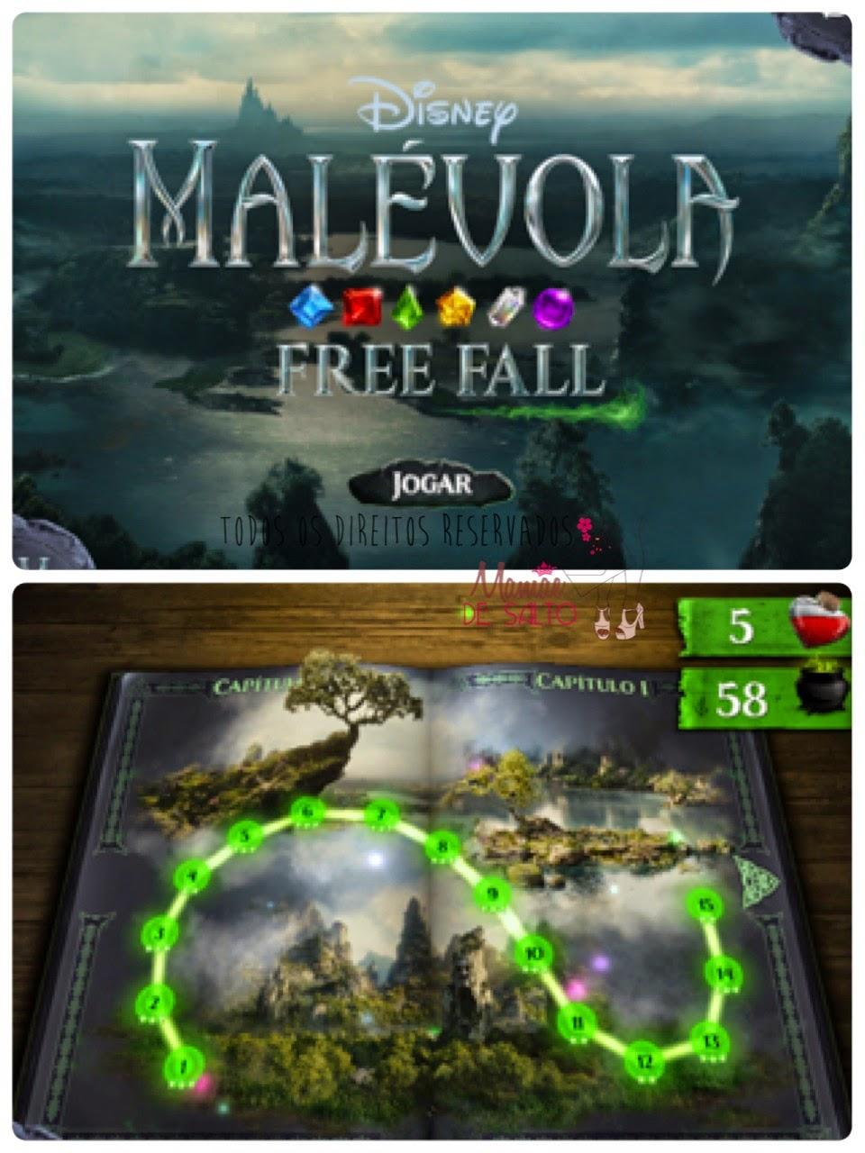 dica de aplicativo iphone e ipad jogos Malévola Free Fall - blog Mamãe de Salto