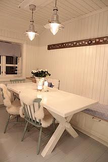 Bygge sittebenk kjøkken