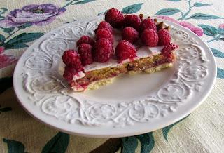 Tarta Nórdica, frutos del bosque, receta