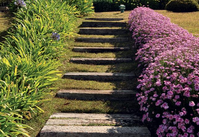escada jardim madeira:RI Arquitetura: Escada na área externa