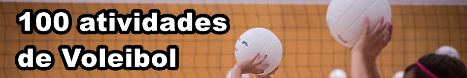 100 Atividades de Voleibol