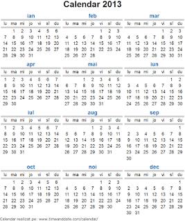 Calendar 2013 - 3