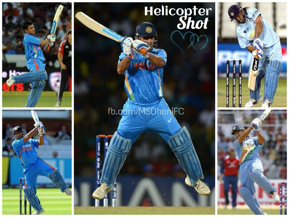 Siddharth Shah: Helicopter Shot By Dhoni. Mahendra Singh Dhoni Helicopter Shot Video