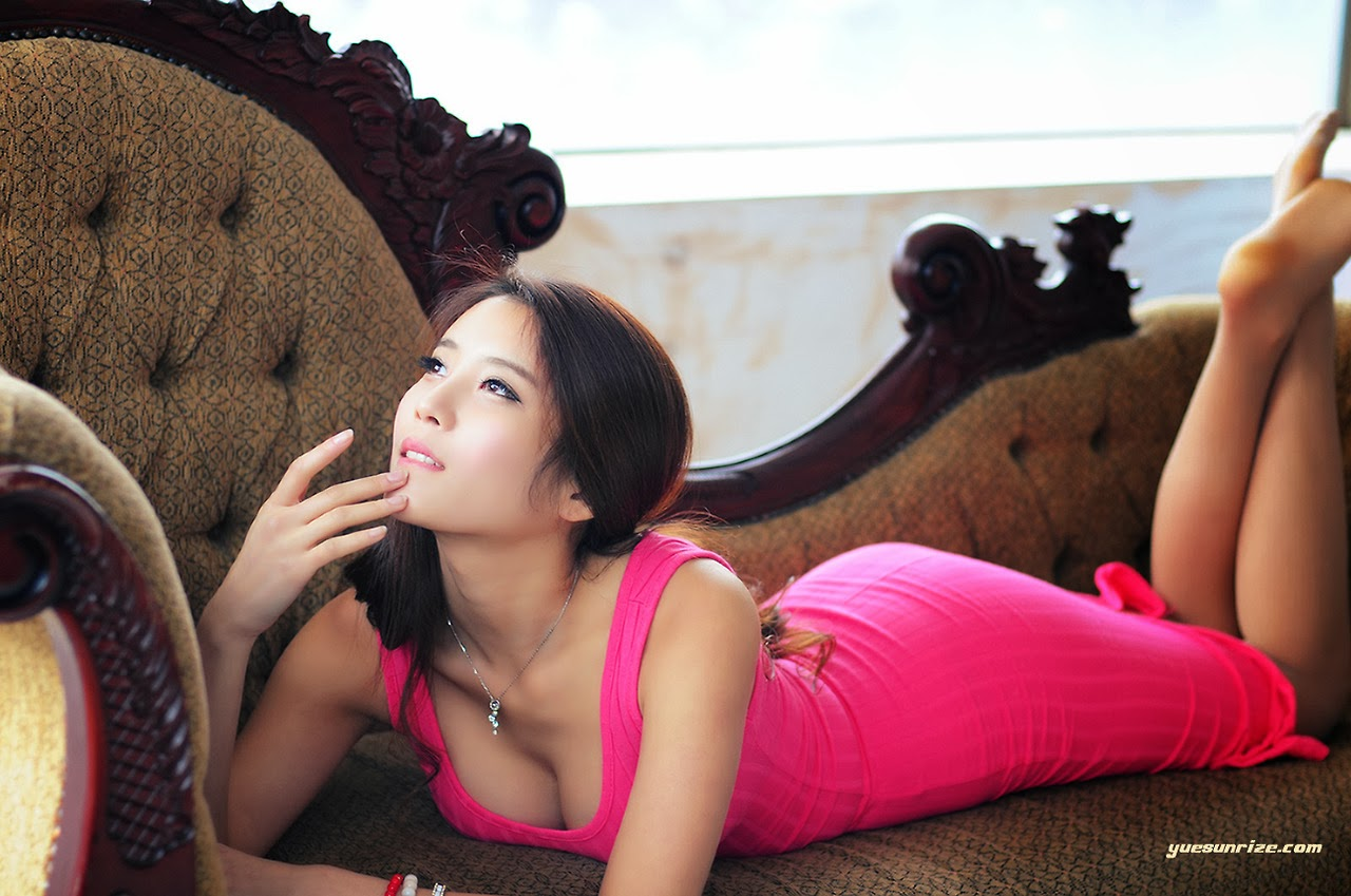 Cha Jung Ah Sexy in Pink