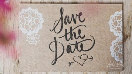 Save the date deburante