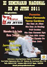 XI SEMINARIO NACIONAL DE JIU JITSU 2011
