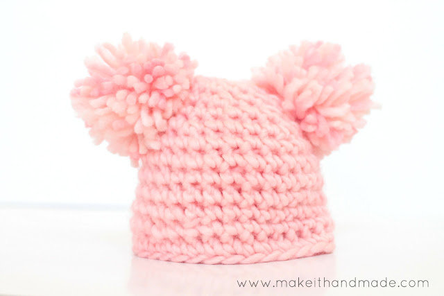 Newborn Hat's 3 ways!