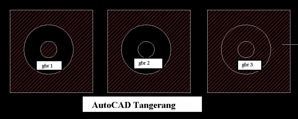 Metode Island Detection pada Arsiran AutoCAD.