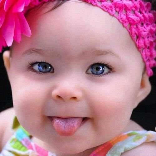 Photo bébé fille