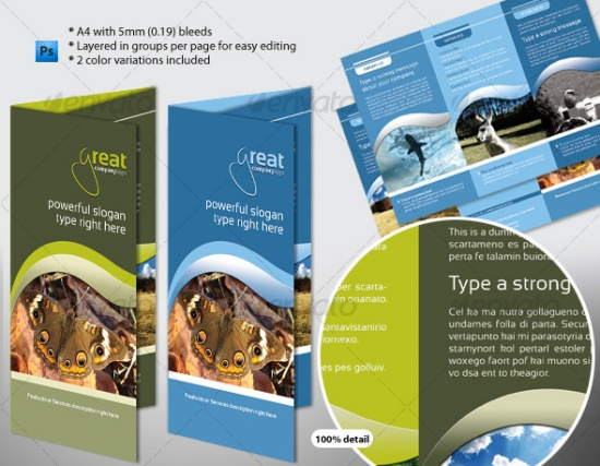 free indesign brochure templates - brochure zafira pics indesign brochure templates