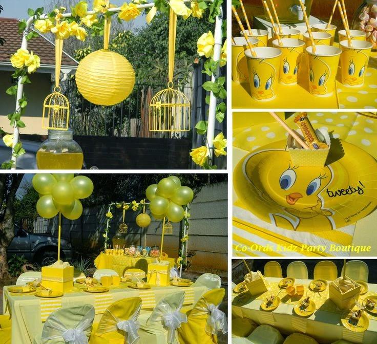 Decoración de Fiesta Infantil de Piolin - Tweety