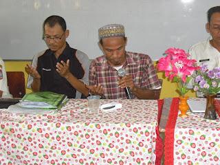 Doa oleh Yusrizal Panjaitan