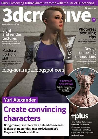 3D Creative Magazine Issue 106 June 2014