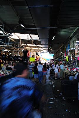 На рынке Кармель