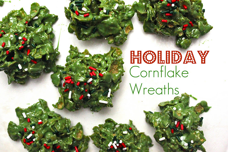recipe: cornflake wreaths recipe [21]