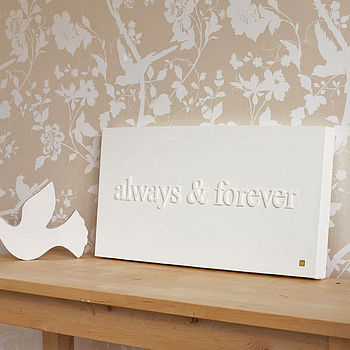Images that inspire me diy projects by nina for Wooden letters on canvas