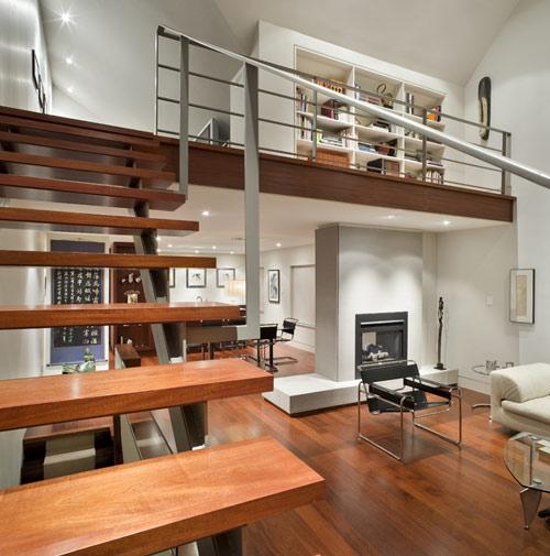 Arquiteta evelyn luci loft for Piani di casa con design loft