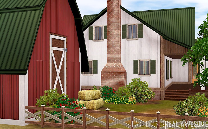 My Sims 3 Blog: The Ashby House by FakeHousesRealAwesome title=