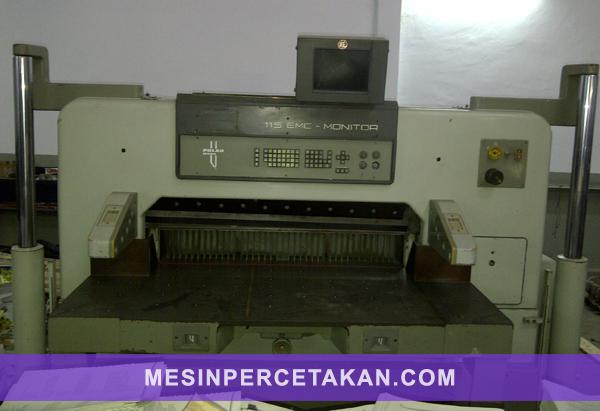 Mesin potong kertas Polar 115 EMC
