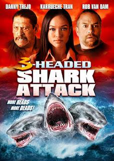 El ataque del tiburón de tres cabezas (2015) Online