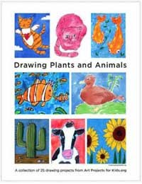 Drawing Plants &amp; Animals $5