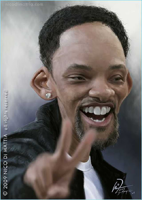 Funny Pictures of Famous Celebrities Made By Nico Di Mattia