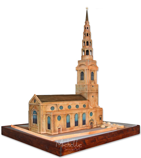 St Bride's Church Cake