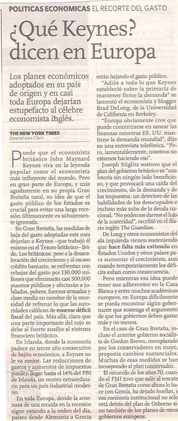 Politica internacional argentina u e 2010 que keynes for Que es politica internacional